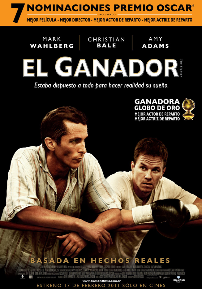El Ganador (The Fighter) - Afiche