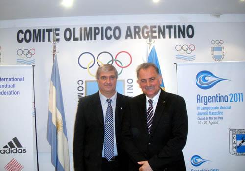 Marcelo Moccia y Leon Kalin (Foto: Prensa C.O.A.)