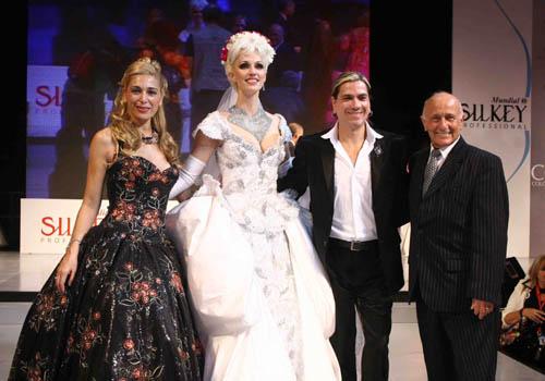 Elizabeth Yelin, Igrid Grudke, Roberto Piazza y Mauricio Wachs