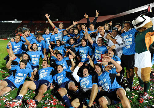 "UAR - Pampas XV, Campeón de la ""Vodacom Cup 2011"""
