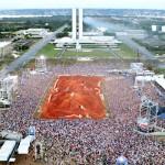 Visión aérea del circuito de la segunda etapa del Mundial Red Bull X-Fighters.