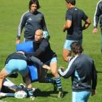 Felipe Contepomi, ya recuperado de una lesión, formará parte del equipo que enfrentará a Escocia