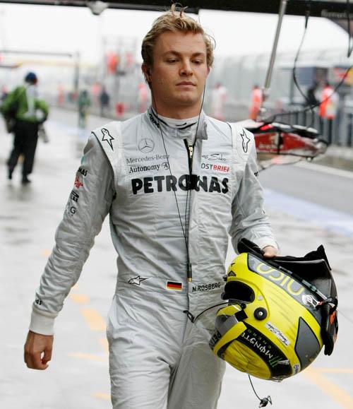 El piloto Nico Rosberg.