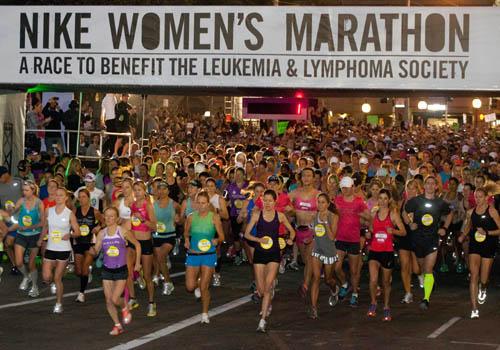 Calu Rivero en la Nike Women's Marathon