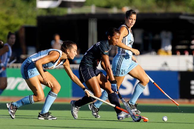 CAH - Argentina vs. India (Foto: CAH/Matías Correa Arce)
