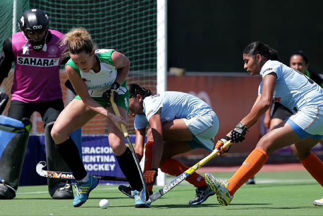 CAH - Irlanda vs. India. (Foto: CAH/Matías Correa Arce)