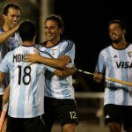 Argentina vs. España. (Foto: Matías Correa Arce)
