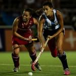 Luciana Aymar avanza en el ataque. (Foto: Matías Correa Arce)