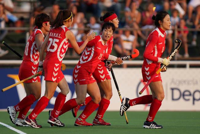 Corea del Sur vs. Nueva Zelanda. (Foto: Matías Correa Arce)