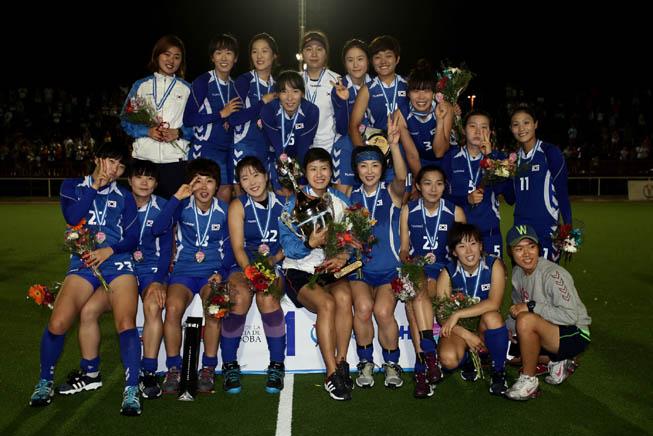 Corea del Sur Campeón del 4 Naciones. (Foto: Matías Correa Arce)