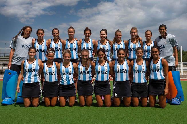 Las Leonas - Foto Oficial 4 Naciones. (Foto: Matías Correa Arce)