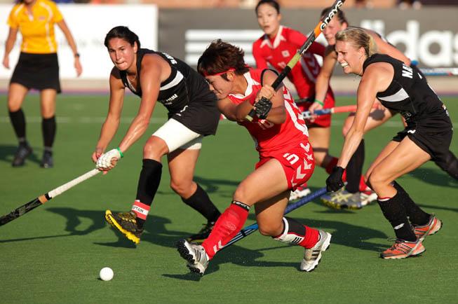 Nueva Zelanda vs. Corea del Sur. (Foto: Matías Correa Arce)