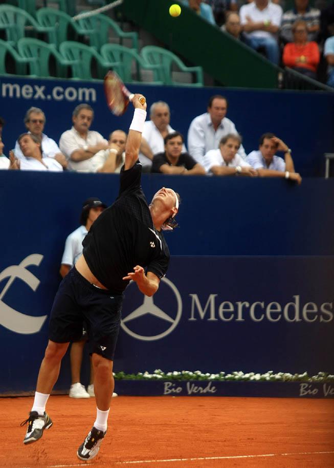 David Nalbandian en el ATP de Buenos Aires.