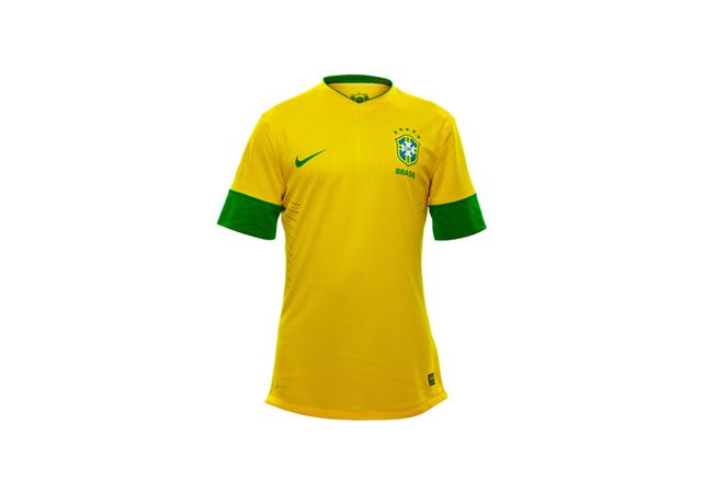 Camiseta Titular de Brasil.