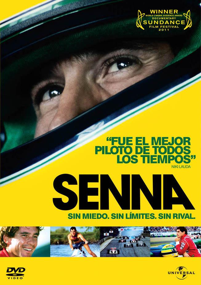 Senna - Carátula DVD