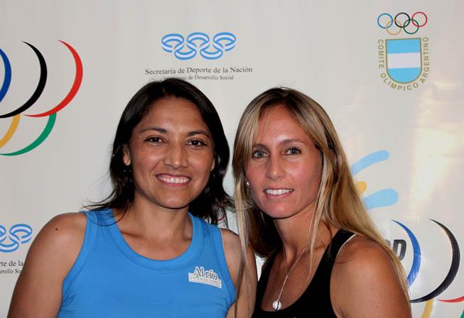 Paola Suárez y Gisela Dulko sueñan con una medalla en Londres.