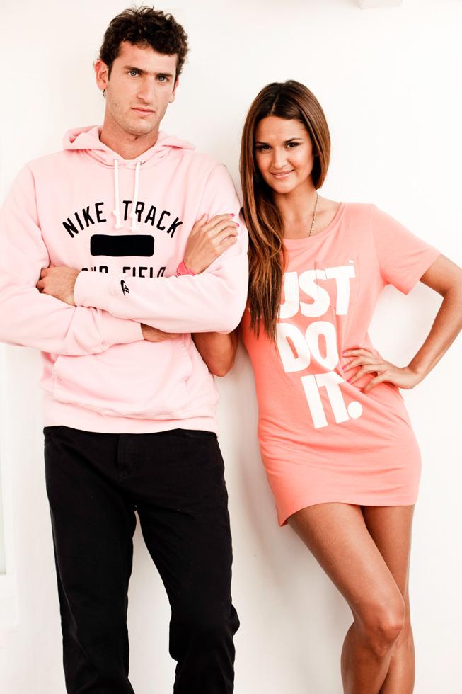 Germán Charaviglio y Leryn Franco.