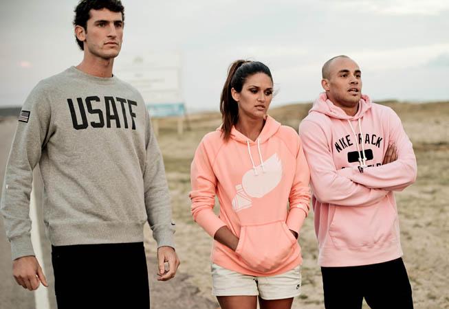 Germán Charaviglio, Leryn Franco y Andrés Silva en plena producción fotográfica.