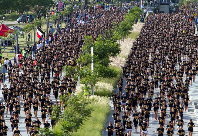 Nike - Women's Race - Largada