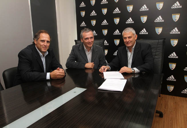 Pablo Iacovino, Ricardo Gortari y Daniel Marcellini.