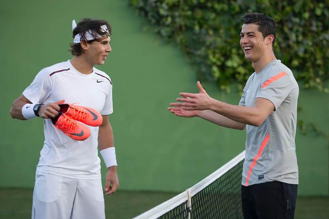 Nike Spot Mercurial Vapor VIII - Rafa Nadal y Cristiano Ronaldo.
