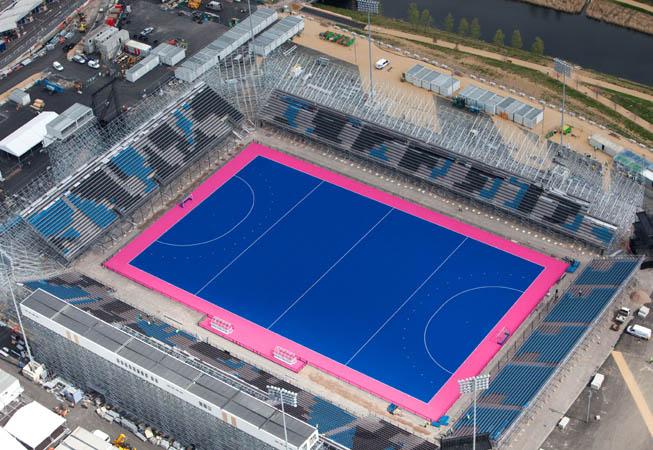 El Riverbank Arena ubicado en el Parque Olímpico.