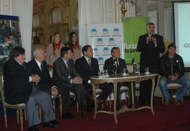 Presentación Copa Standard Bank. (Foto: Patricio Guzmán)