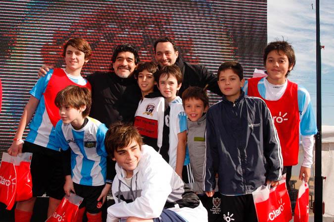 Los jugadores más destacados con Diego Maradona.