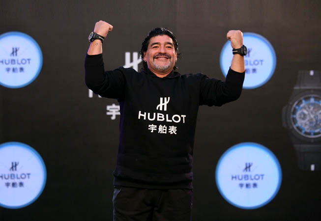 Hublot - Diego Armando Maradona.