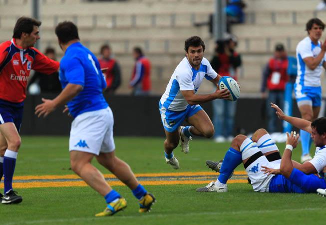 Los Pumas vs. Italia. (Foto: ProFocus/U.A.R.)