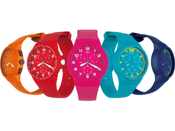 Swatch Chrono Plastic Collection