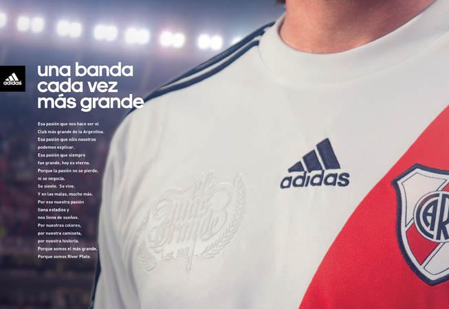 adidas - Nueva Camiseta River - Manifiesto