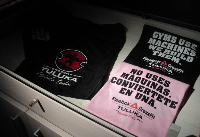 Las remeras de CrossFit Tuluka.