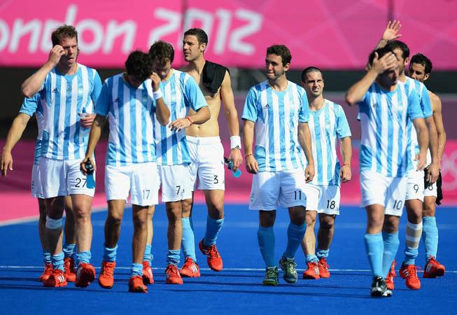 CAH - Argentina vs. Nueva Zelanda. (Foto: Lars Baron/Getty Images)