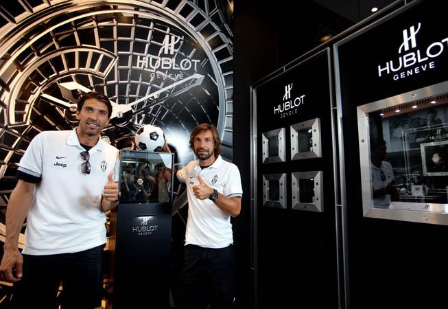 Hublot - Gigi Buffon y Andrea Pirlo
