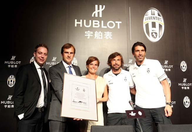 Hublot - Patrocinio Juventus
