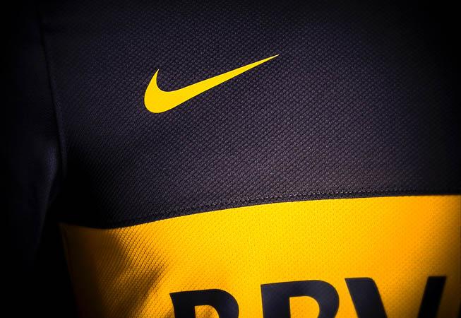 Nike - Camiseta Boca Jrs. 2012