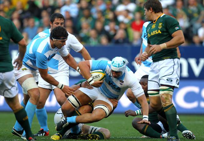 Los Pumas vs. Sudáfrica. (Foto: Rodrigo Vergara/UAR)