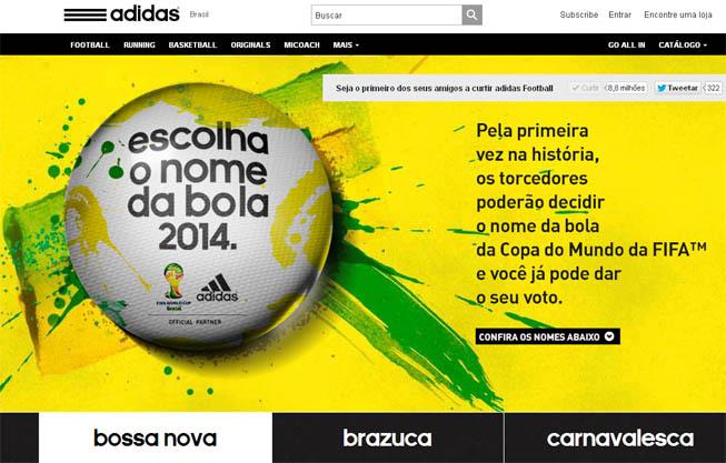 adidas - Balón FIFA 2014