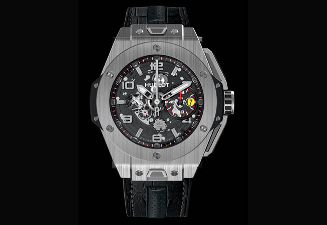 Hublot -  Big Bang Ferrari Titanium.