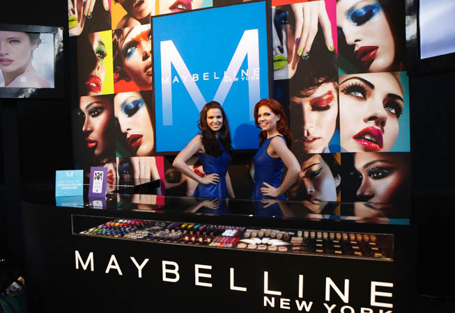 Maybelline NY - Mercedes Benz FW.