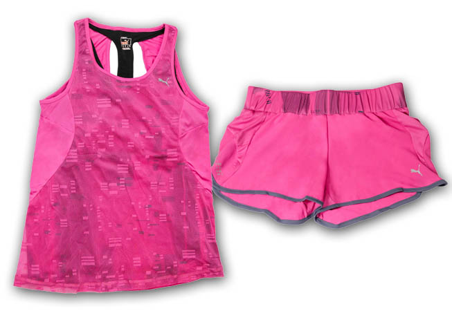 PUMA - Run Top y Classic Short