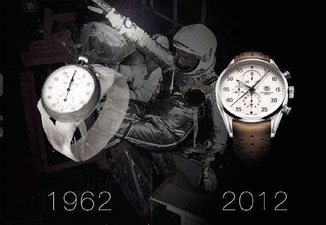 50º Aniversario del Primer Reloj Suizo en el Espacio.