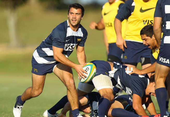 Los Pumas listos para enfrentar a Australia (Foto: Rodrigo Vergara/U.A.R.)