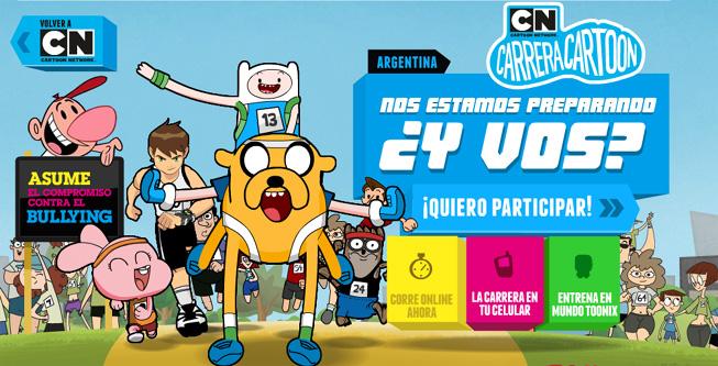 Carrera Cartoon 2012