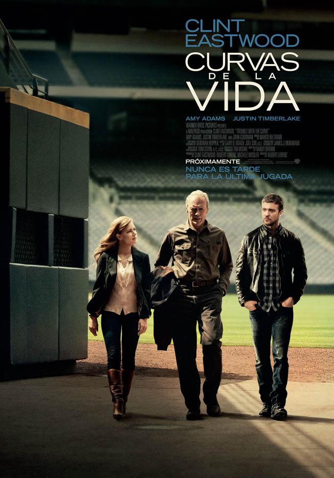 """Afiche de """"Curvas de la Vida"""" (Trouble With the Curve). Foto: Gentileza Warner Bros. Argentina"""