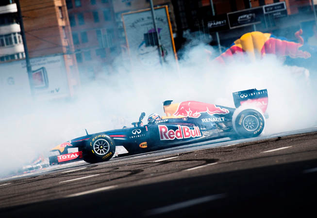 Red Bull F1 Showrun
