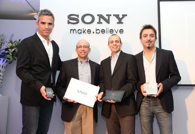 Sony - 4 Pantallas