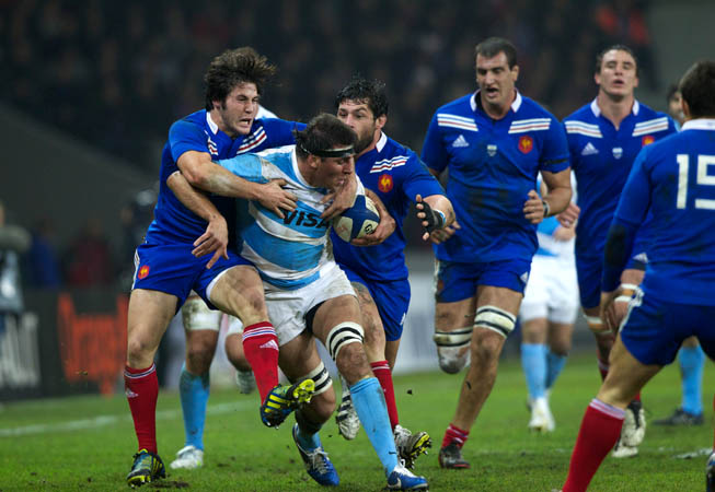 Los Pumas vs. Francia. (Foto: Prensa U.A.R.)