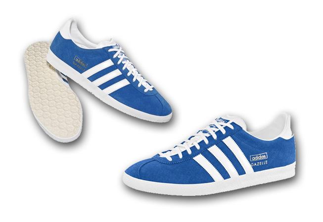 adidas - Gazelle Azul